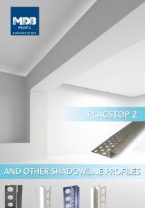 Dokumentation Placstop Z und Schattenfugenprofile