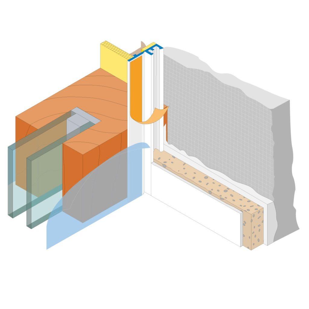 profil f r t ren und fenstern profi inter eco lippe 8866 mdb profil. Black Bedroom Furniture Sets. Home Design Ideas